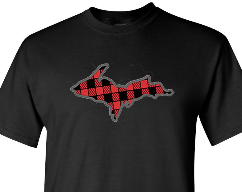 up plaid tshirt1