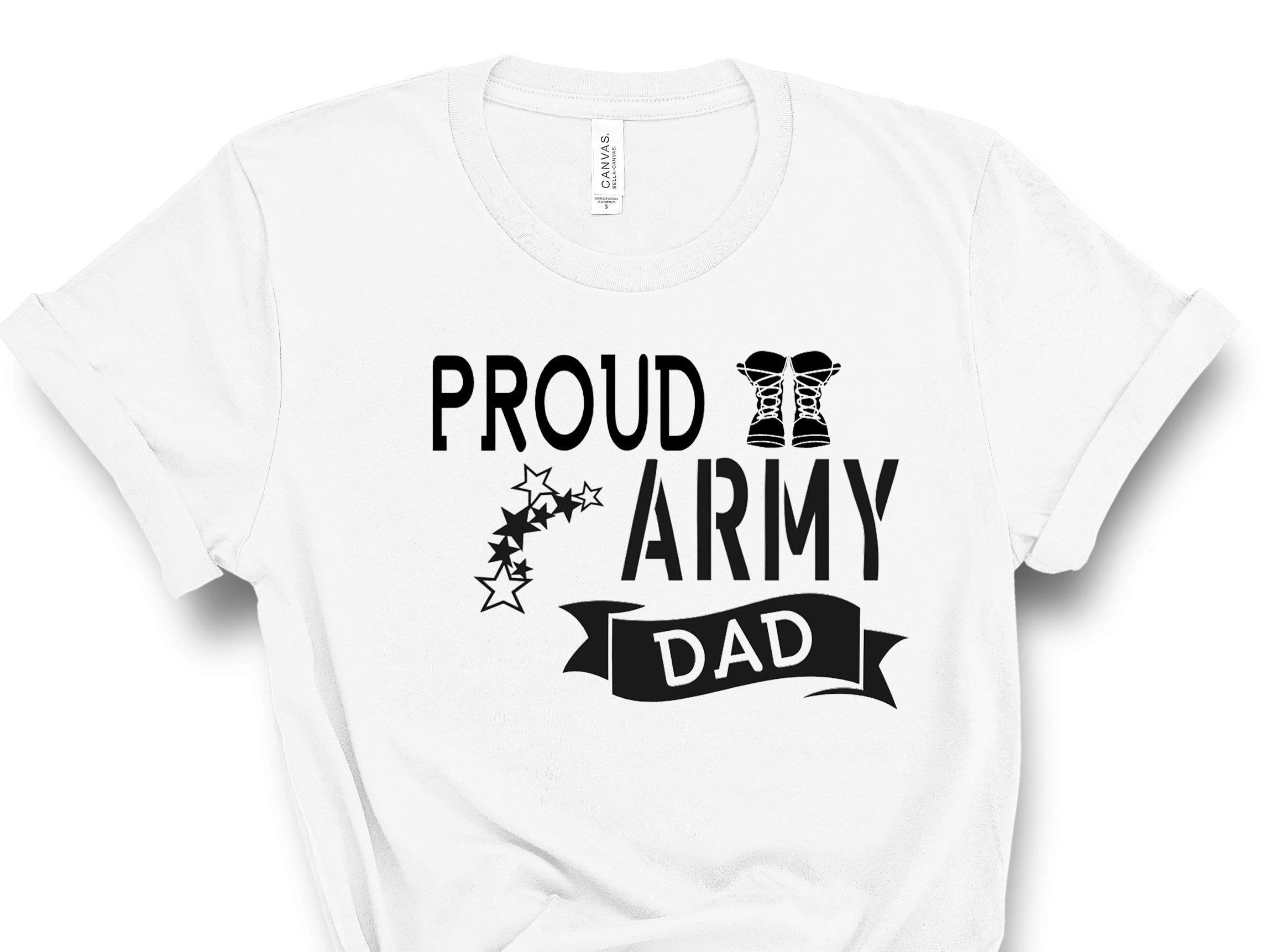ARMY DAD WHITE