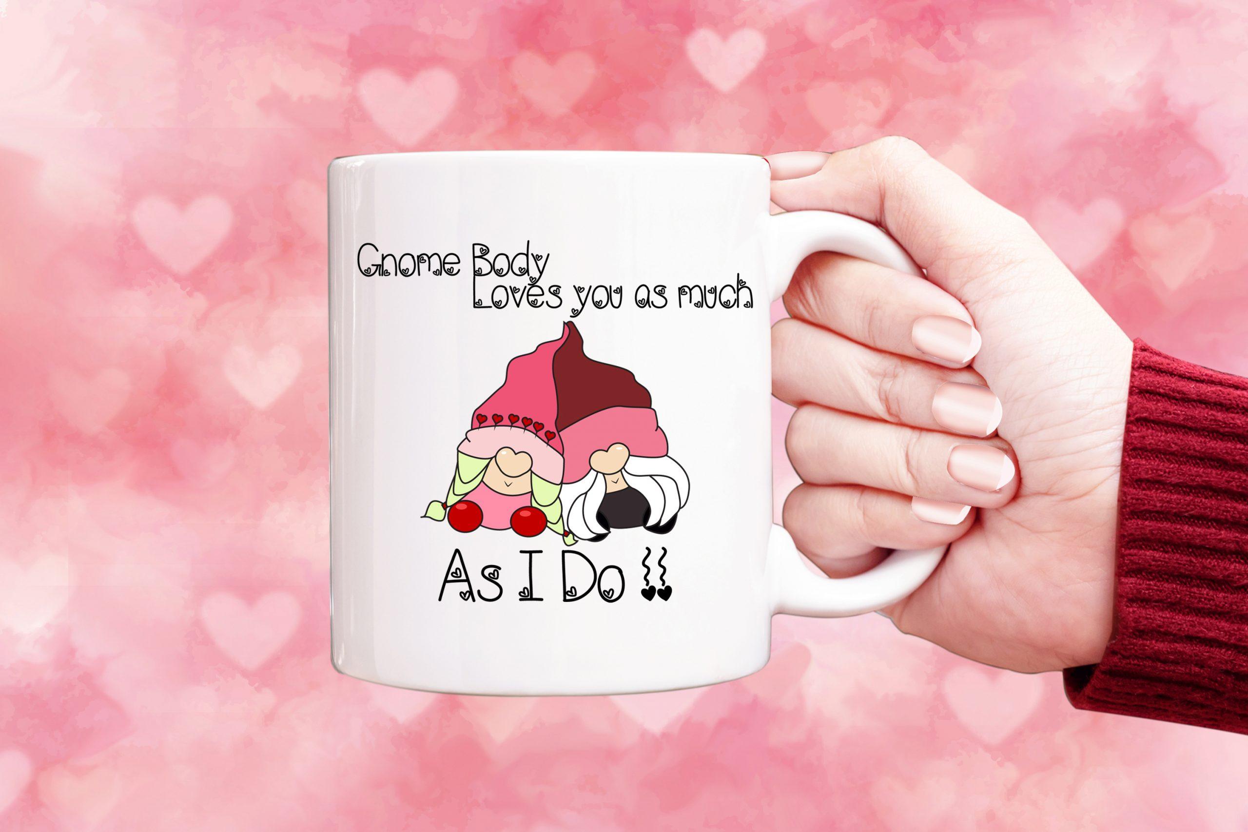 Valentine Mug gnome